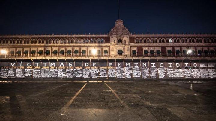 Tras intervención por feminicidios en Palacio Nacional, invitan a cambiar el nombre del Zócalo
