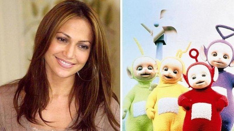 """Tunden a Jennifer Lopez: Comparan a la actriz con personaje infantil: """"Eres un 'teletubbie'"""""""
