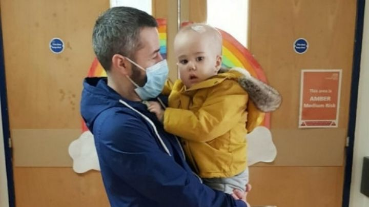 Bebé sobrevive a tumor cerebral del tamo de una mandarina: le quedaban 2 días de vida