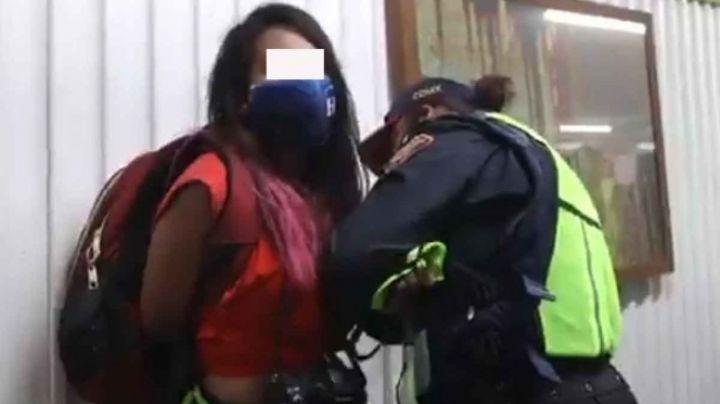 CDMX: SSC suspende a policías que agredieron a reportera durante manifestación del 8M