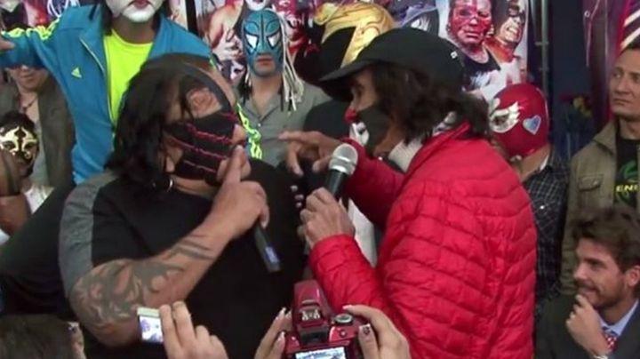 VIDEO: El día en que Cepillín le dio TREMENDA cachetada al luchador Pirata Morgan