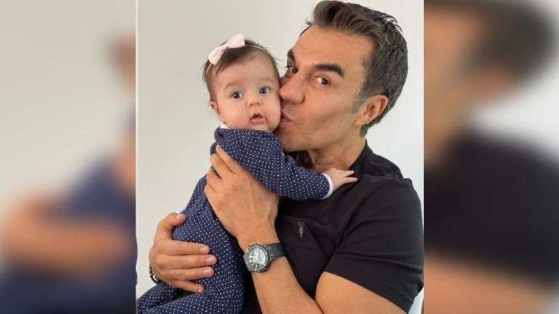 ¡Qué ternura! Adrián Uribe le da lección de vida a su pequeña hija y lo exhibe en Instagram
