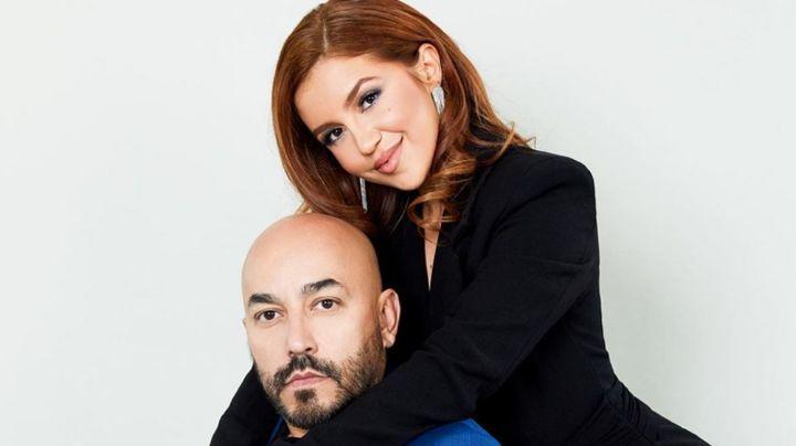 Con amorosas fotos, Lupillo Rivera le desea feliz cumpleaños a su novia 23 años menor
