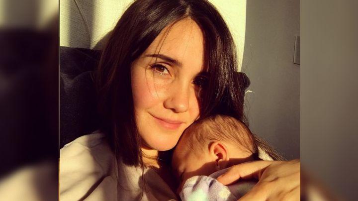 Dulce María enloquece las redes: Hace esto por primera vez con su hija María Paula