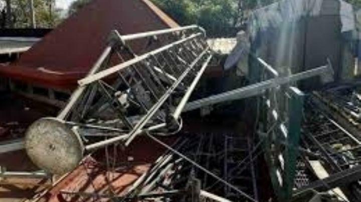 Trabajador de AT&T muere luego de caer de una antena de alrededor de 20 metros de altura en CDMX