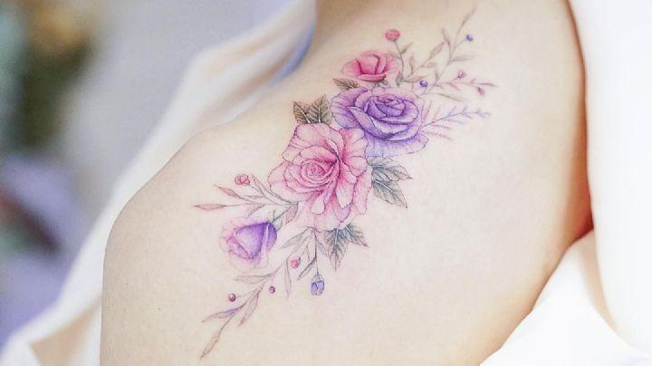 ¡Lleva a la reina de las flores en tu piel! Amarás estos tatuajes para mujer de rosas