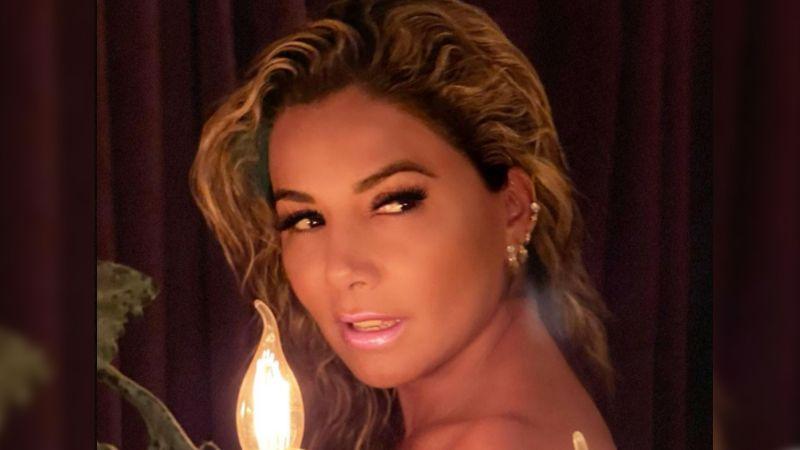 Aleida Núñez, actriz de Televisa, disfruta de la playa con su atuendo más despampanante