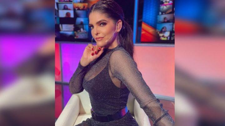 ¡Señora! Ana Bárbara acalora el foro de 'TTMT' al aparecer en un delicado vestido