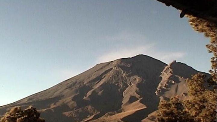 Popocatépetl inicia el mes con un sismo, 13 exhalaciones y 125 minutos de tremor