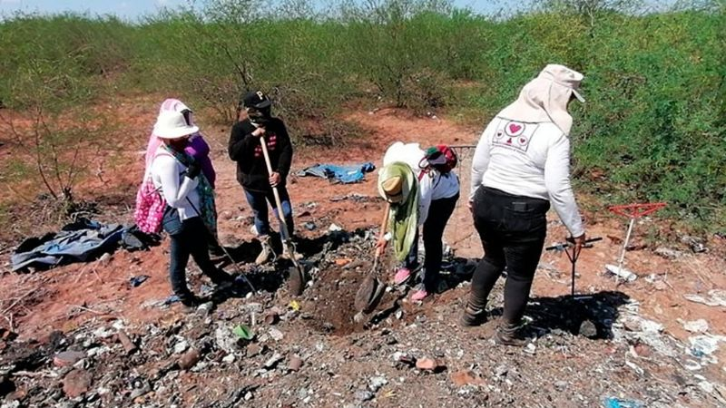 Sonora: Descubren nuevos restos humanos calcinados y enterrados en predio de Guaymas