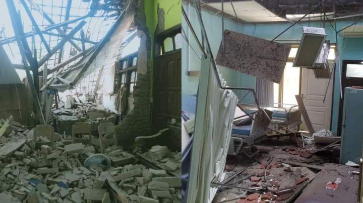 VIDEOS: Así derrumbó casas el fuerte sismo en Indonesia; dejó siete víctimas mortales