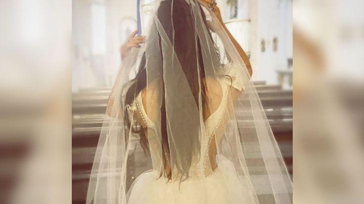 ¿Ya se casó? Ana Bárbara hace estallar las redes con FOTO vestida de novia en el altar