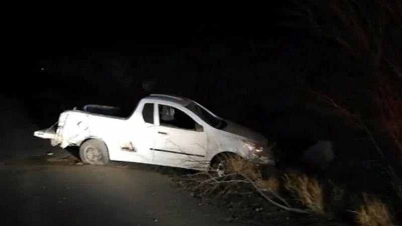 Terrible accidente en Guaymas deja a una persona severamente lesionada