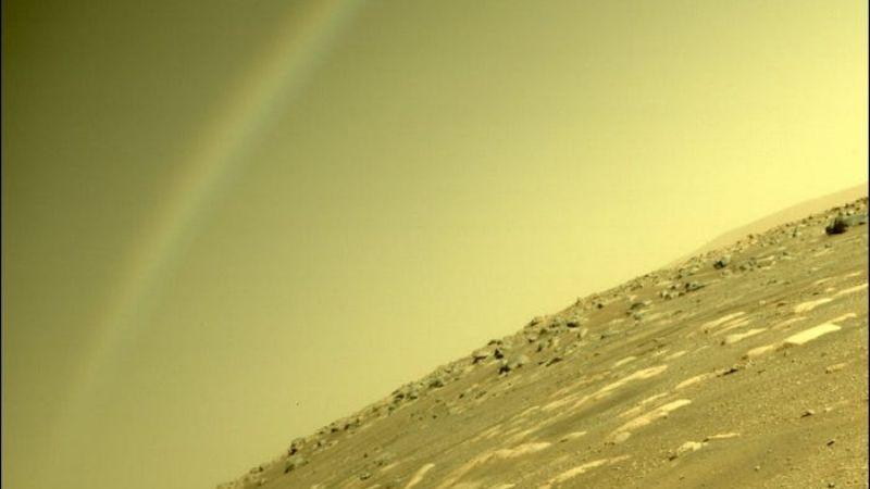 ¿Por qué hay un arcoíris en Marte? La NASA explica este extraño fenómeno captado en cámara