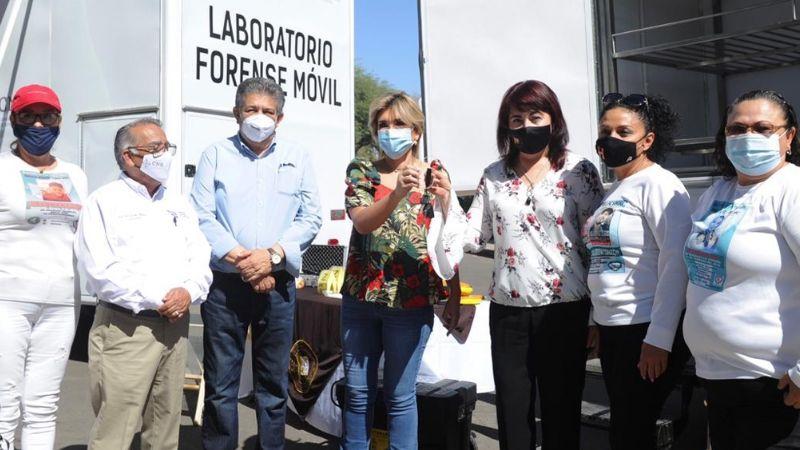 Claudia Pavlovich entrega laboratorios forenses para la búsqueda de personas desaparecidas
