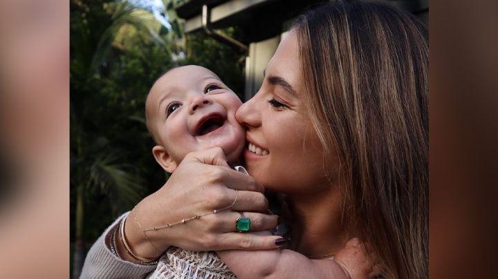 Sin Noah ni 'Chicharito': Sarah Kohan endulza Instagram con foto junto a Nala