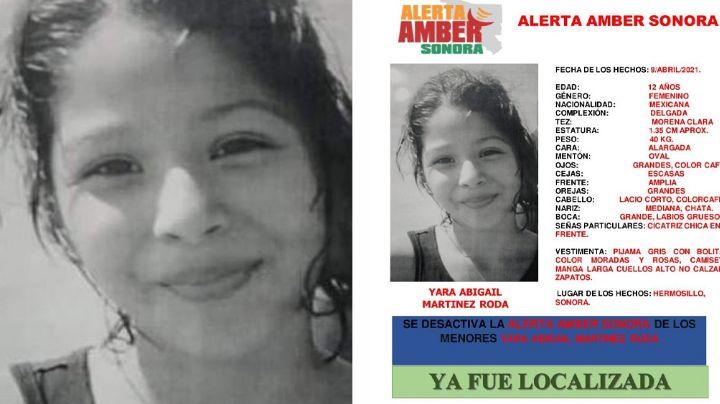 Sana y salva: Tras días desaparecida, localizan con vida a Yara Abigail en Hermosillo, Sonora