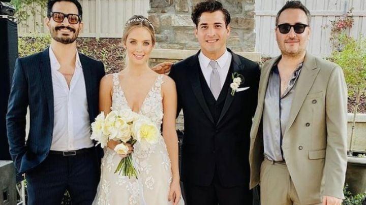 """""""Un amor de verdad"""": Integrante de Reik se casa con bella modelo; festejaron en un jardín"""