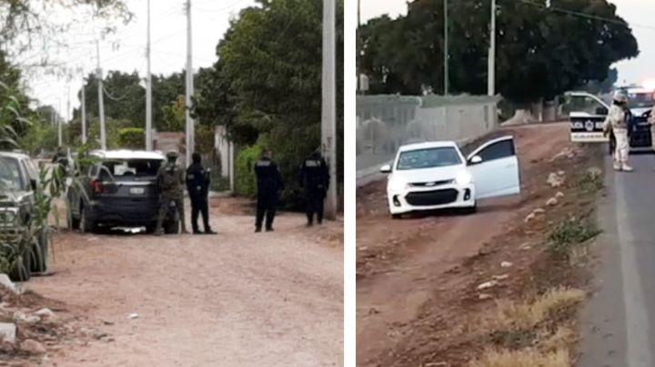 Violento enfrentamiento entre policías y sicarios deja al menos un muerto en el Valle del Yaqui