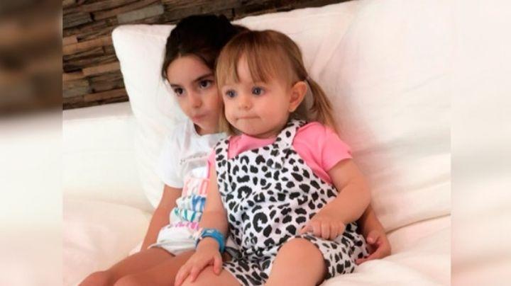 Aislinn Derbez enternece su perfil de Instagram con una emotiva foto de las niñas Derbez