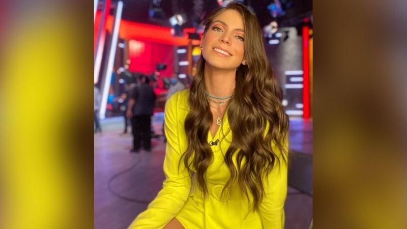 Esmeralda Ugalde enloquece a fans al lucirse desde TV Azteca de esta coqueta forma