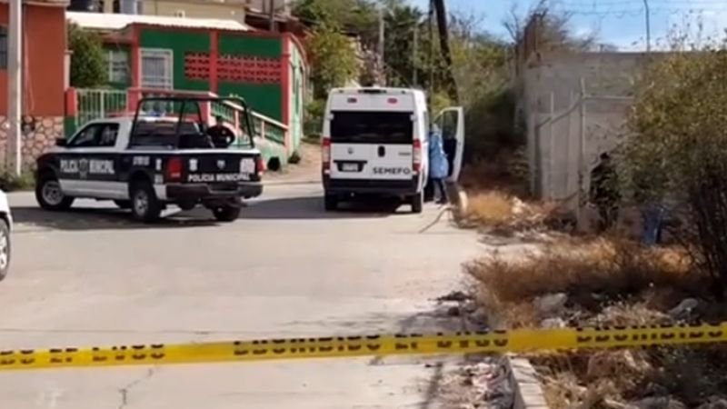 Abandonan el cuerpo sin vida de un joven en calles de Guaymas; tenía el tiro de gracia