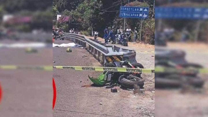 Terrible muerte: Joven muere decapitado y junto a su padre tras accidente en motocicleta