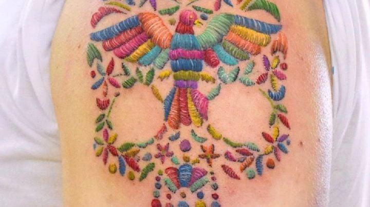 ¡Impactante! Descubre algunos tatuajes para mujer con efecto de bordado