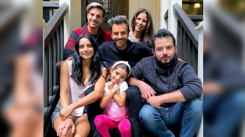 """¡Derbez pierde raiting! Tunden a la familia de Eugenio en Instagram :""""Ya 'chole' ¡Aburren!"""""""