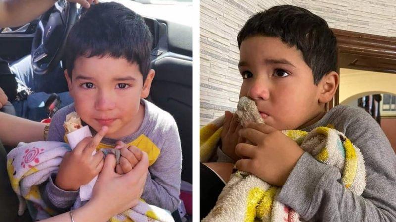 Encuentran a niño al caminar solo en calles del norte de Ciudad Obregón; tendría 3 años