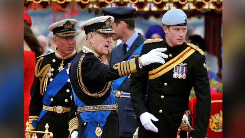 Príncipe Harry rinde tierno homenaje al Príncipe Felipe desde el Reino Unido