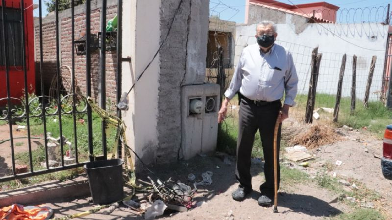 Cajeme: Vecinos de la colonia Jardines del Valle denuncian no tener energía eléctrica desde hace 6 meses