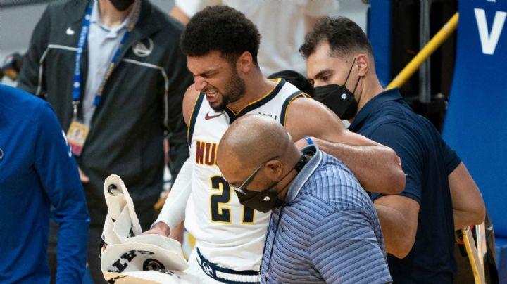Jamal Murray es baja lo resta de la temporada por romperse el ligamento de la rodilla
