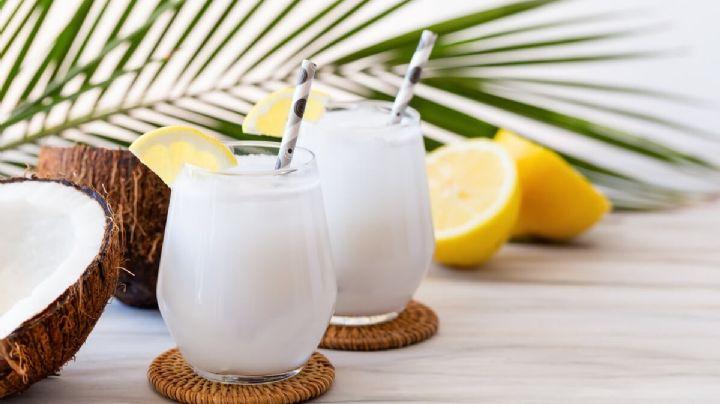 Dale tregua a los rayos intensos del Sol de primavera con una limonada de coco