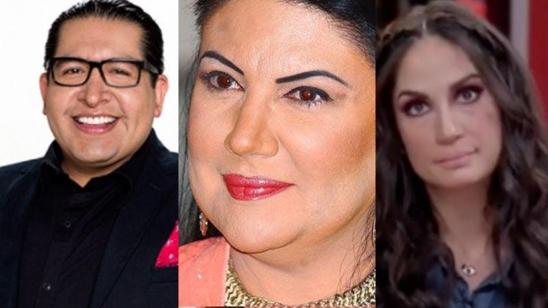 Conductores de 'Sale el Sol' se comen viva a actriz de Televisa por decir que 'Luismi' no la supera