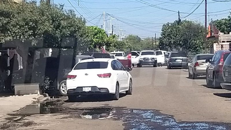 Ciudad Obregón: Balacera en la colonia Cortinas desata fuerte movilización policíaca