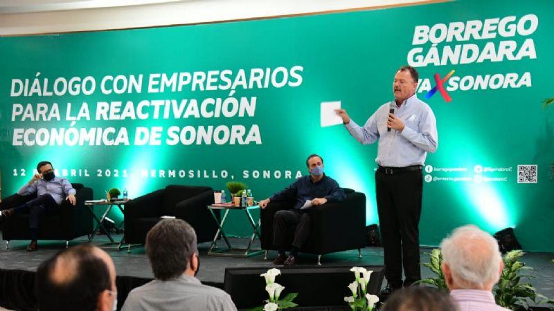 Ernesto el 'Borrego' Gándara buscará reactivar la economía en el estado de Sonora
