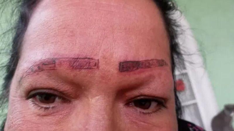 """¡Cuidado! Denuncian en Facebook a """"tatuadores"""" que realizan un mal diseño de cejas"""