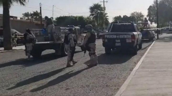 Tras intensa balacera, arrestan a dos sicarios en Caborca; uno es originario de Ciudad Obregón