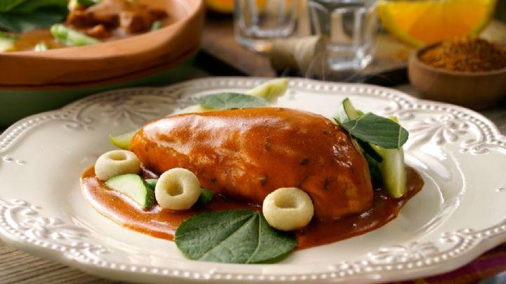 ¡Tradicional y delicioso! Consiente a tu familia con este espectacular mole amarillo
