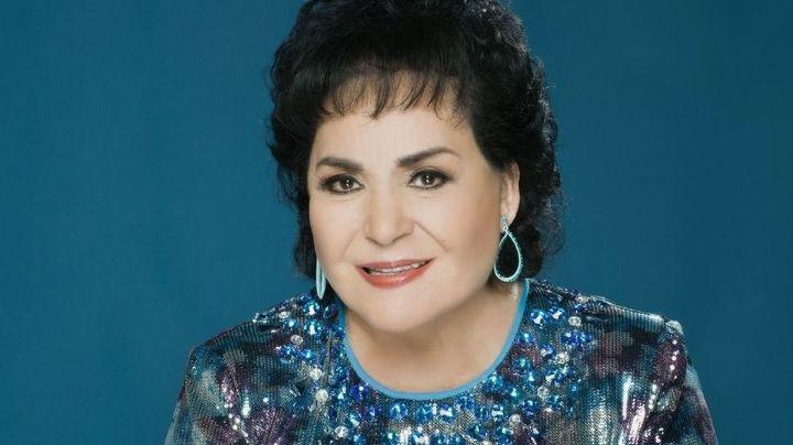 ¡Se tuvo que disfrazar! Carmen Salinas ya recibió ambas dosis de la vacuna contra Covid-19
