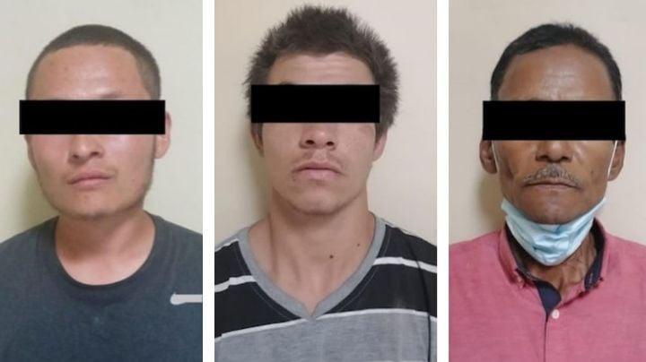 Aprehenden a tres presuntos 'tiradores' al norte de Sonora; fueron descubiertos con droga