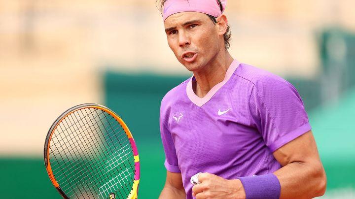 Rafael Nadal ni se despeina y vence a Delbonis en su debut en el torneo de Montecarlo