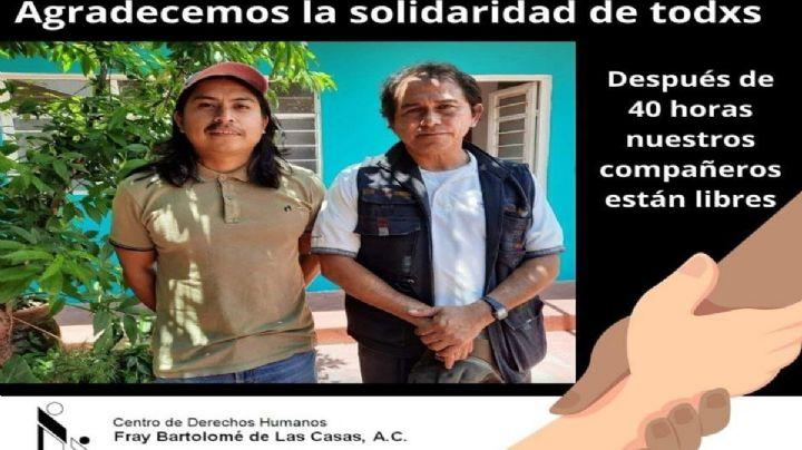Liberan a integrantes de Derechos Humanos en Chiapas; indígenas los tenían cautivos