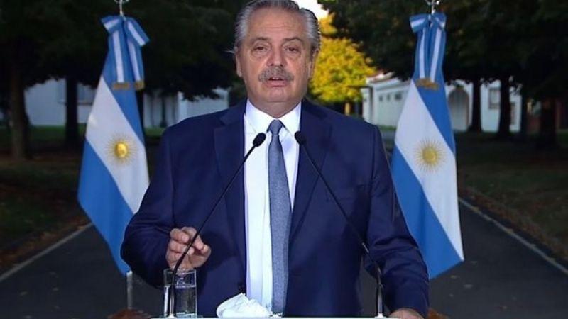 Dan de alta al presidente de Argentina luego de dar positivo a Covid-19; tuvo síntomas leves