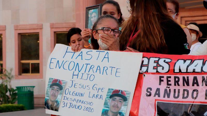 'Ellos también desaparecen': Marcharán por los 250 hombres desaparecidos en Cajeme