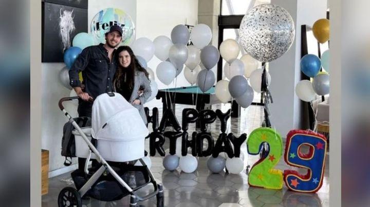 ¿Se parece a 'El Potrillo'? A un mes de dar a luz, Camila Fernández presume a Cayetana