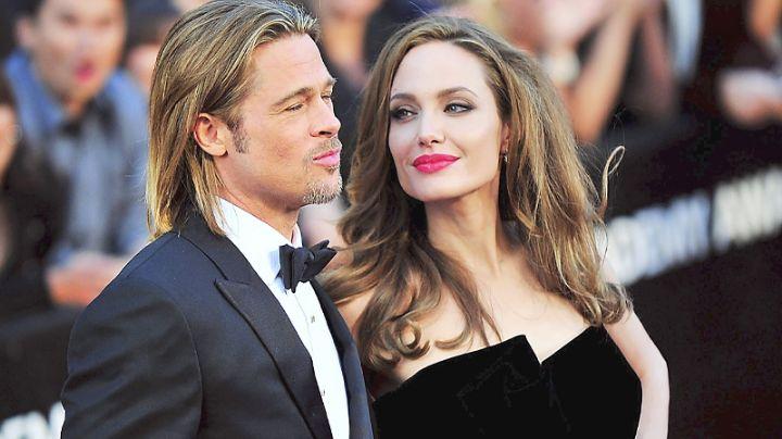 FOTO: Tras acusaciones de violencia hacia Angelina Jolie, Brad Pitt aparece en silla de ruedas