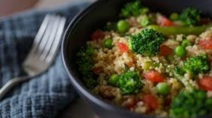 ¿Quieres bajar de peso? Lógralo con esta fácil y deliciosa ensalada de quínoa