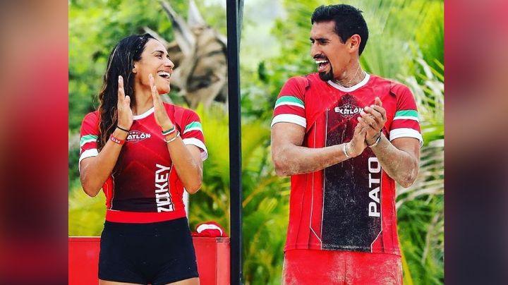 ¡Bebé en TV Azteca! Atletas de 'Exatlón' revelan que serán padres; serían gemelos